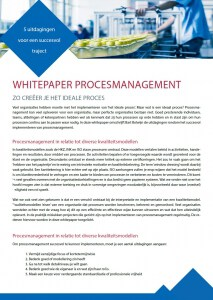 Whitepaper procesmanagement