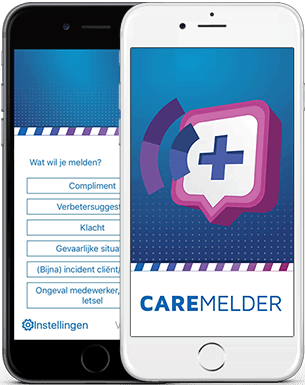 Care Melder App voor iPhone en Android