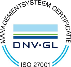 ISO27001 DNV GL RGB | | Geautomatiseerd meldsysteem | Infoland