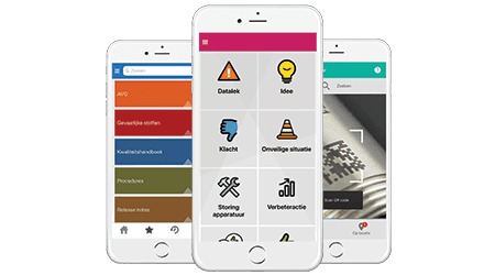 Afbeelding andere apps |  | QHSE | Infoland