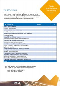 Documentmanagement checklist